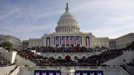 US Presidential Inauguration 2009 Barrack Obama 44th President