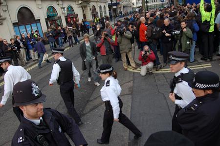 Marina Scukina - Photographers protesting
