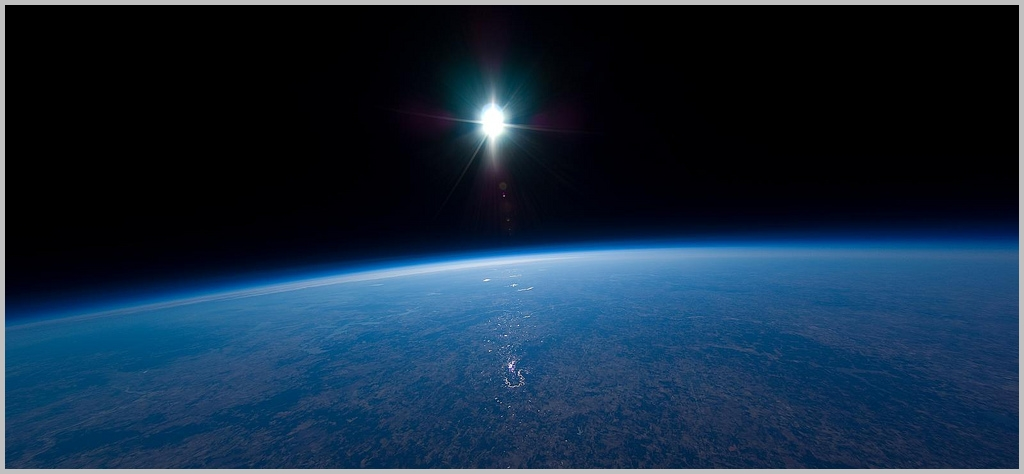 Photo from the edge of space