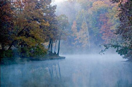Misty Morning - Devils Den
