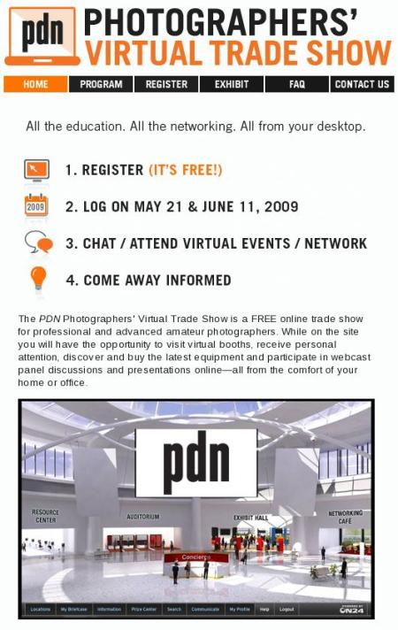 Photographers' Virtual Trade Show