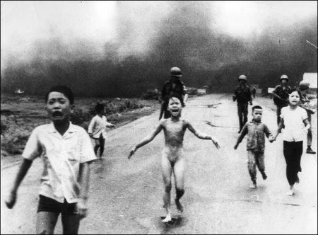 Vietnam napalm girl