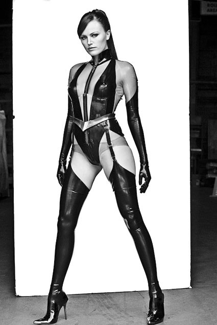 Clay Enos - Watchmen: Portraits (Malin Akerman as Silk Spectre II)