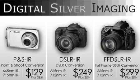 Digital Silver Imaging - IR Conversions