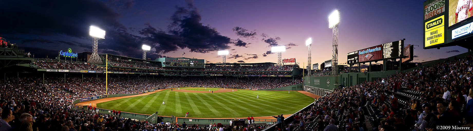 Miserere - Fenway Park panorama